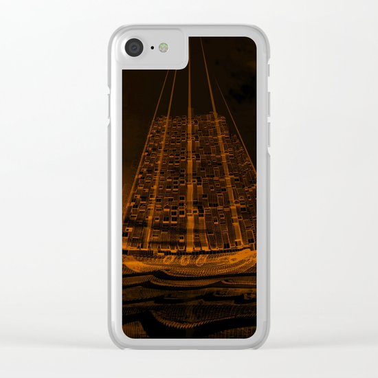 The Flying Dutchman / Legend, sepia 21-11-16 Clear iPhone Case