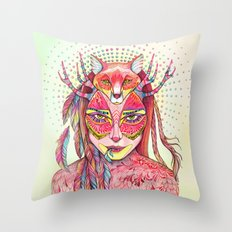 spectrum (alter ego 2.0) Throw Pillow
