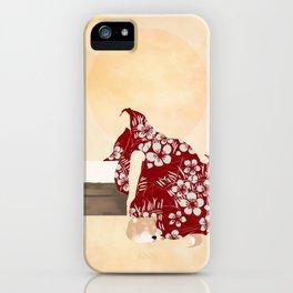 Lazy: Dawn iPhone Case