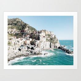 Manarola, Cinque Terre, Italy Art Print