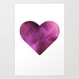 Love Travels Art Print