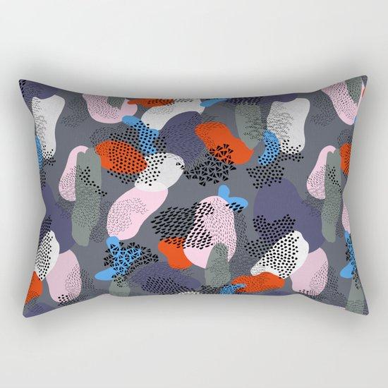 Midnight Stroll Rectangular Pillow