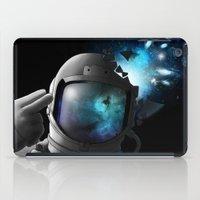 big bang iPad Cases featuring Big Bang by angrymonk
