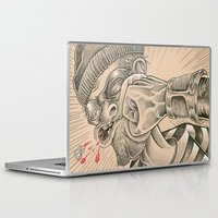 justice league Laptop & iPad Skins featuring Justice! by AfrAsian