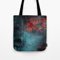 nightmare Tote Bags featuring Nightmare by Tayler Smith