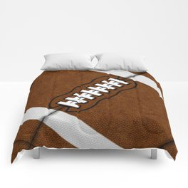 Fantasy Football Super Fan Touch Down Comforters