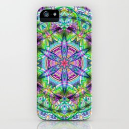 Vitality Mandala - The Mandala Collection iPhone Case