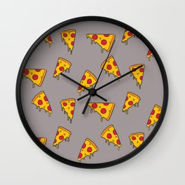 Pizza slices Wall Clock