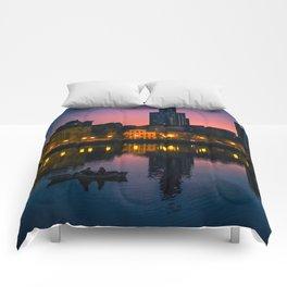 Night boating Comforters