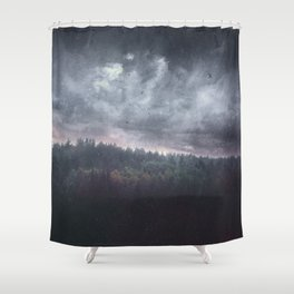 The hunger Shower Curtain