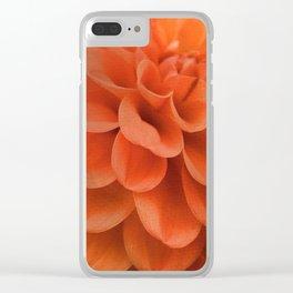 Dahlia Clear iPhone Case