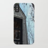 fallout iPhone & iPod Cases featuring Grizzly Fallout by Keeto