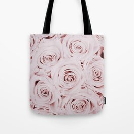 Flowers, Roses, Neutral, Minimal, Modern, Wall art Tote Bag