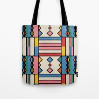 journey Tote Bags featuring journey by spinL
