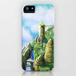 Laputa Castle in the Sky iPhone Case