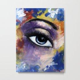 Title: Very Beautiful Eye painting Metal Print