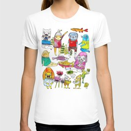 Critter collection T-shirt