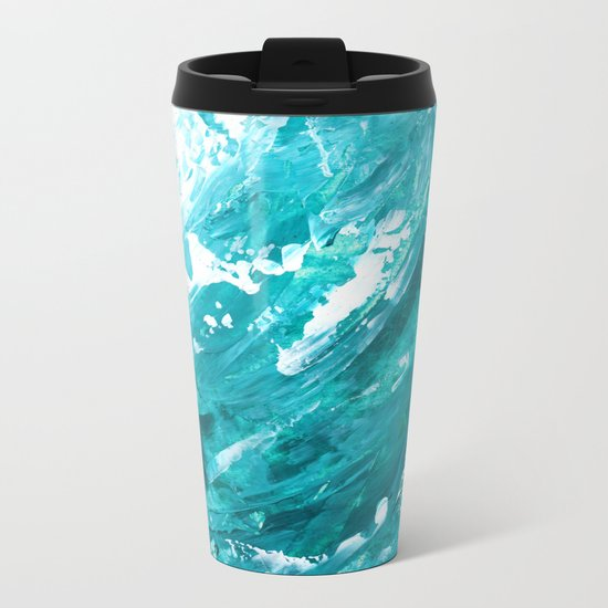 OCEAN BREEZE Metal Travel Mug