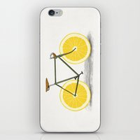wicked iPhone & iPod Skins featuring Zest by Florent Bodart / Speakerine