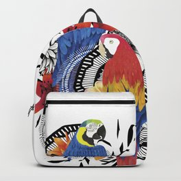 Macaws Backpack