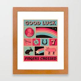 Good Luck Framed Art Print