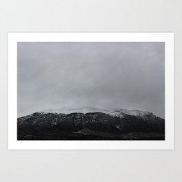 Alberta | Mountain range Art Print
