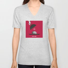 Main dish Unisex V-Neck