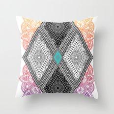 Geometribal Throw Pillow