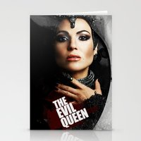 evil queen Stationery Cards featuring The Evil Queen by Slayerstime