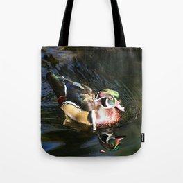 Beautiful Wood Duck Tote Bag