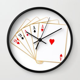 Full House Wall Clock