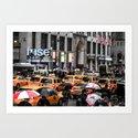 ArtWork New York City USA Black and Colour by bysumex
