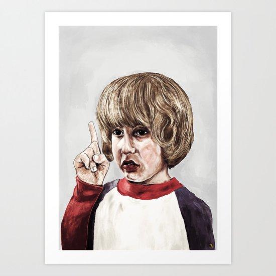Danny Torrance Art Print