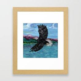 Soar Like An Eagle Framed Art Print