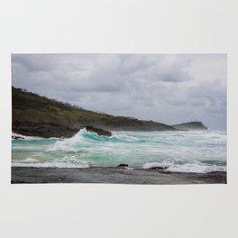 Fraser Island- Waves Rug