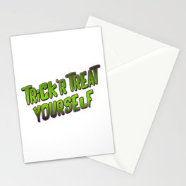 Trick'r Treat Yourself Stationery Cards