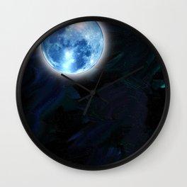 Lunar Halo Wall Clock