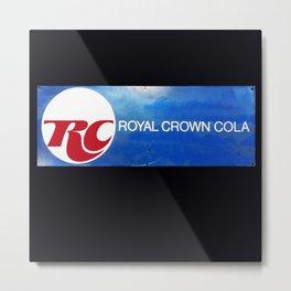 R C Royal Crown Cola Metal Print