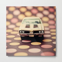 Olds 442 with Dots Metal Print