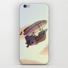 Steampunk Airship iPhone Skin