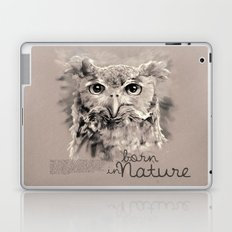 Owl (BornInNature) Laptop & iPad Skin