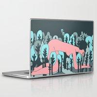 forrest Laptop & iPad Skins featuring forrest by Regina Rivas Bigordá