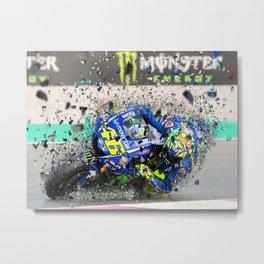 moto gp Metal Print