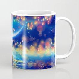 STARRY NIGHT MERMAID Coffee Mug