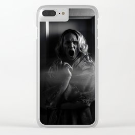 zombie Clear iPhone Case