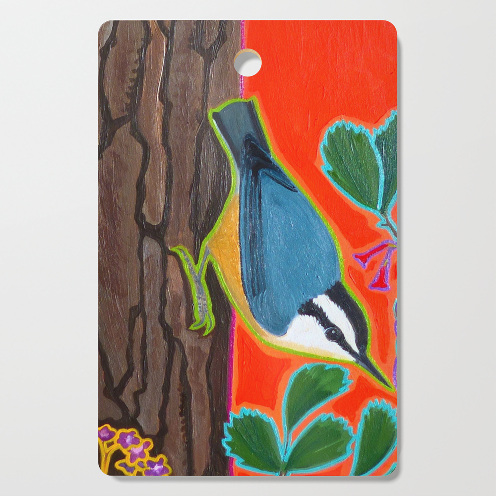 Red Breasted Nuthatch Cutting Board by wrendreams (DCB10597517) photo
