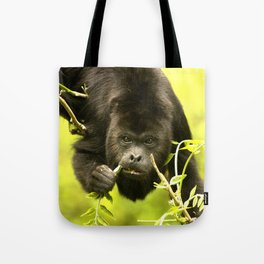 Howler monkey Tote Bag