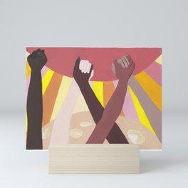 Together We Rise Mini Art Print