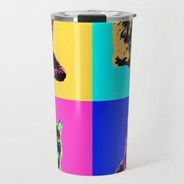 Cat Pop Travel Mug