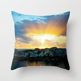 Burst of Light Throw Pillow